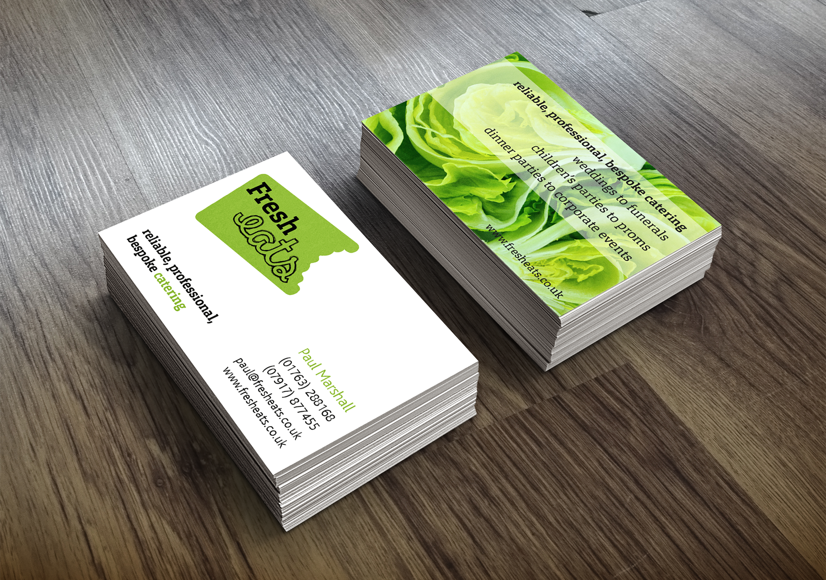 Fresh Eats Business Cards